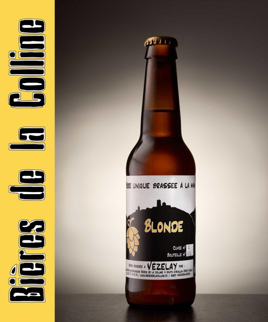Bière blonde de Vézelay
